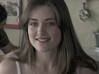 Megan Boone Camel Toe in My Bloody Valentine 3D