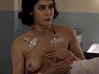 Lizzy Caplan Topless in Masters of Sex Again