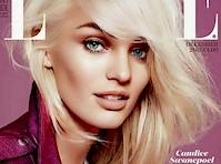 Candice Swanepoel in Elle Magazine