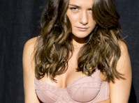 Addison Timlin in Her Underwear for Esquire