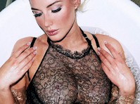 Helen Flanagan in a See Through bra