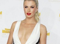 Ireland Baldwin Showing Cleavage