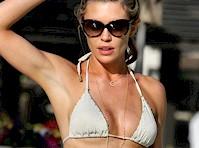 Abbey Clancy Bikini Cameltoe