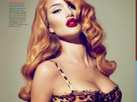 Rosie Huntington-Whiteley for GQ Magazine