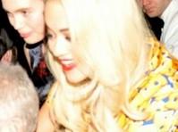 Rita Ora Sheer Panty Upskirt
