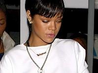 Rihanna's Pink Panties