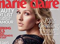 Ellie Goulding in Marie Claire Magazine