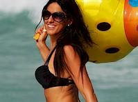 Claudia Romani Bikini Candids