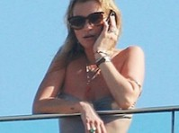 Kate Moss Bikini Candids
