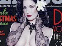 Dita Von Teese Nude for Playboy (2002)