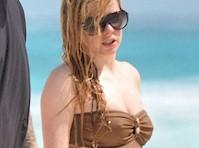 Avril Lavigne Bikini Candids
