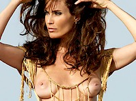 Carol Alt Topless in Playboy (2008)