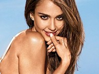 Jessica Alba in a Bikini for Entertainment Weekly