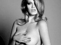 Hailey Clauson Nude but Covered for Flaunt Magazine!
