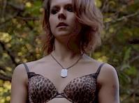 Paloma Kwiatkowski in Underwear from Bates Motel!