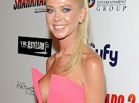 Tara Reid Sideboob at Sharknado 2 Premiere!