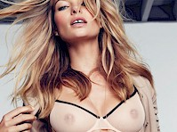Jessica Hart See Through for GQ!