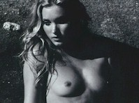 Elsa Hosk Topless in GQ Magazine!
