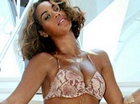 Beyonce in a Bikini by Beyonce!