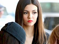 Victoria Justice at LAX!