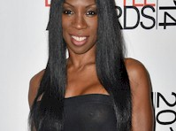 Heather Small in a See Through Dress!