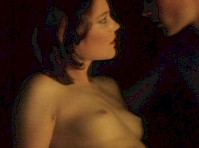 Darby Stanchfield Topless in The Picture of Dorian Gray!