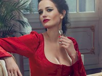 Eva Green is Sexy in Red for Compari!