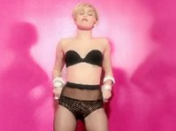 Another Miley Cyrus Pantyhose Video!