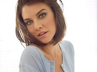 Lauren Cohan in Panties for Sharp Magazine!