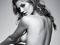 Toni Garrn Sideboob for GQ Magazine!