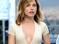 Sophia Bush Cleavage Candids!
