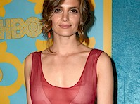 Stana Katic Braless Pokies!
