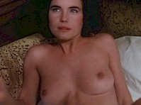Elizabeth McGovern Topless in Women and Men: Stories of Seduction!