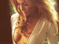 Jennifer Lopez Cleavage and Pokies for Complex!