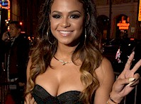 Christina Milian Cleavage on the Red Carpet!
