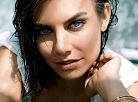 Lauren Cohan in GQ Magazine!