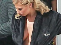 Charlotte McKinney Panty Flash on the Set of Dancing With The Stars!