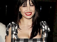Daisy Lowe Cleavage Candids!