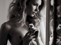 Nina Lund Naked for Euroman!