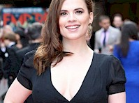 Hayley Atwell Pokies at the 2015 Jameson Empire Awards!