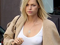 Sophie Monk Pokies and Leather Pants!