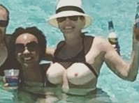 Chelsea Handler Topless in the Bahamas!