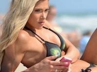 Most bikini see thru wet Hardcore