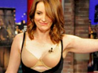 Tina Fey Strips on Letterman!