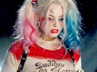 Margot Robbie as Harley Quinn on the Set of Suicide Squad!