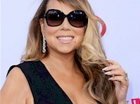 Mariah Carey Cleavage at the 2015 Billboard Music Awards!