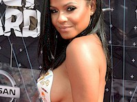 Christina Milian's Sideboob at the 2015 BET Awards!