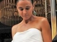 Emmanuelle chriqui upskirt