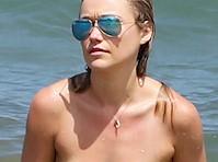 Katrina Bowden Bikini Candids!