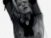 Kate Moss See Through for Love Magazine!